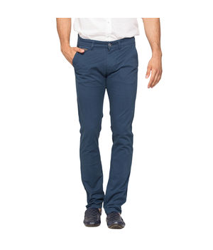 Slim Fit Chinos, 28,  teal blue