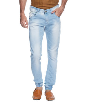Slim Low Rise Narrow Fit Jeans, 36,  light blue