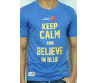 Keep Calm Delhi Daredevils Cotton T-Shirt - RCMT 7009, blue, s