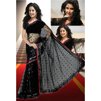 Katrina Kaif Singh is King Saree-K1,  black