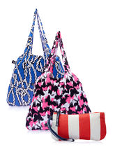Be For Bag Exclusive 3 Bags Combo 2 Resort Tote & 1 Wrislet, multicolor