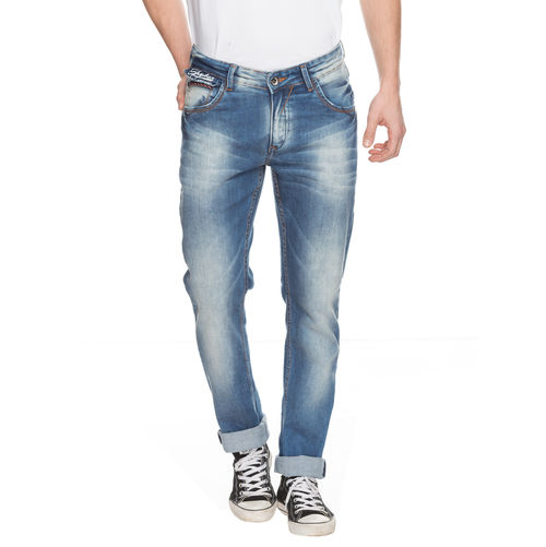 Slim Low Rise Narrow Fit Jeans,  mid blue, 36