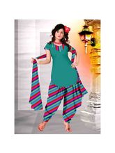 Delhiseven Patiala Dress Material-D7-USU-06, Multicolor