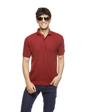 Delhi Seven Polo T-Shirt - D7-TS-009, Red, L