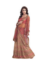 Hypnotex Cotton Designer Lengha Choli XLNC8002C, Multicolor