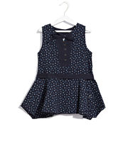 SCULLERS KIDS Princess Of Hearts Top, dark blue, s