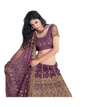 Hypnotex Cotton Designer Lengha Choli XLNC8002A, Multicolor