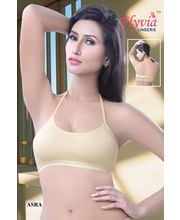 Flyvia Sports Range- Halter Neck ( WLASR03-C), Cream, 36
