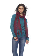 Delhi Seven Woolen Women's Stoles, Brown