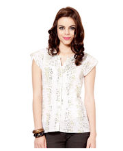 Osia Top DOD-TOP-005, White, M