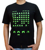 Alien Attack T-Shirt (Black, L)