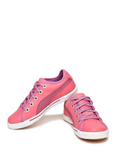 PUMA Tonal Patterned Hip-Hop Sneakers, pink, 13