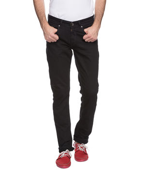 Skinny Low Rise Narrow Fit Jeans, 28,  black