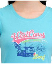 Yepme West Coast Radiance Tee YPMTEES5013, Blue, M