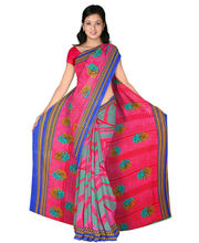 Designer Art Silk Saree With Unstitched Blouse - 30799-VL, Red