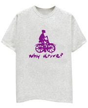 Champu Why Drive Men's T-Shirt CHMP_ MT_ 130, Grey, L