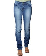 Fungus Women Denim Jeans - FJL-025, Dx Blue, 28