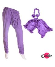 Castle Churidar Duppatta Combo - BDB3471, purple