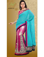 Georgette Multicolor Women Saree