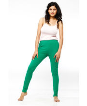 French Trendz Ankle Length Legging - LGALCTSA5, Green, Xs