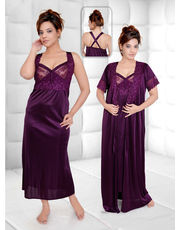 Gemini Lace Delight Honeymoon Nighty / Gown Set