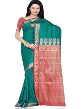 Beautiful Silk Saree 277 (Multicolor)