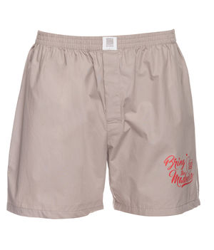 Boxers Shorts,  light grey, l
