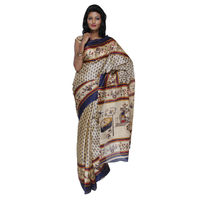 Fav Diva Bhagalpuri Art Silksaree, multicolor