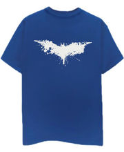 Champu Batman Faded Men's T-Shirt CHMP_ MT_ 331, Blue, S