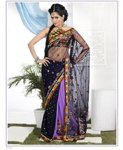 Triveni Sarees Colorful Fancy Saree