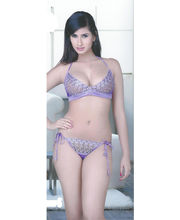 Flavia Honeymoon Queen Two Piece Set (Purple)