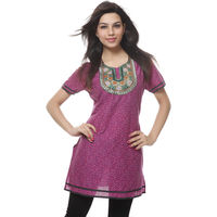 Needle Value Kurtis, l, multicolor