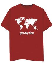 Champu Globally Desi Men's T-Shirt CHMP_ MT_ 166, Red, S