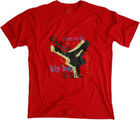 Tshirt Graphic Dance Free Style (Red, L)