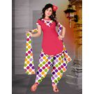 Delhiseven Patiala dress material-D7-USU-01, multicolor