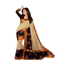 Vamika Bhagalpuri silk Saree, multicolor