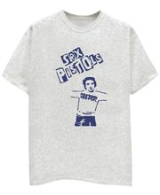Champu Sex Pistols Men's T-Shirt CHMP_ MT_ 386, Grey, Xl