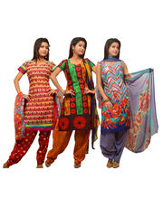 Kriaa Womens Unstitched Salwar Suit Combo Pack of 3...