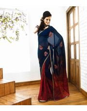 Panash Saree With Unstitched Blouse