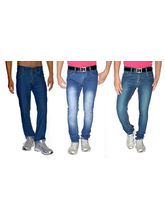 Mynte Pack of 3 Stretchable Denim, 32
