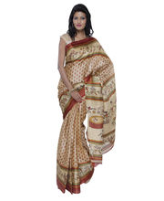 Fav Diva Bhagalpuri Art Silk Saree, Multicolor
