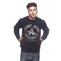 American Derby Sweatshirt - PL-SSP-6, xl,  black