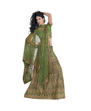 Hypnotex Cotton Designer Lengha Choli XLNC8002B, Multicolor