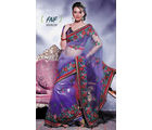 Fashion N Fabrics Saree (Purple)
