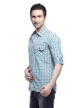 Crosscreek Casual Checks F/s Shirt - 730474, Multicolor, L