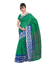 Fabdeal Raw Silk With Banarasi Border Printed Saree (LPTSR7128ARM),...