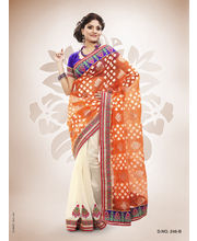 Touch Trends Patola Jaquard Designer Sarees - 246_ B, Multicolor