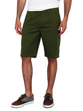 Amaira-Stylish Chino Shorts, green, m