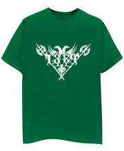 Champu 1389 Metal Rock Band Men's T-Shirt CHMP_ MT_ 143, Green, M