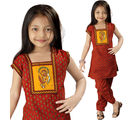 Little India Rajasthani Bagru Designer Cotton Salwar Suit -109A, 24
